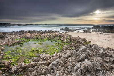 Low Tide at Pescadero Beach