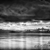 San Rafael Bridge in Monochrome