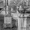 Headstones at St. Marx Cemetery