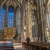 Interior of Stephansdom (St. Stephen's Cathedral)