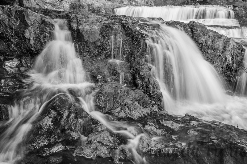 Willow Falls at Willow River State Park in Wisconsin