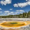 Chromatic Pool - Upper Geyser Basin