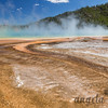 Grand Prismatic Spring and Runoff - Midway Geyser Basin