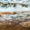 Grand Prismatic Spring and Reflections