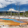 Opalescent Pool II - Black Sand Geyser Basin