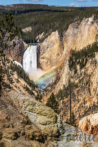 Lower Falls and Rainbow