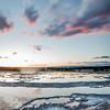 Great Fountain Geyser Sunset III - Firehole Lake Drive