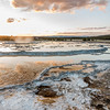Great Fountain Geyser Sunset II - Firehole Lake Drive