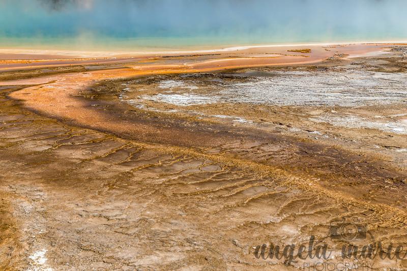 Prismatic Spring Runoff I - Midway Geyser Basin