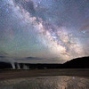 Milky Way Reflections - Midway Geyser Basin