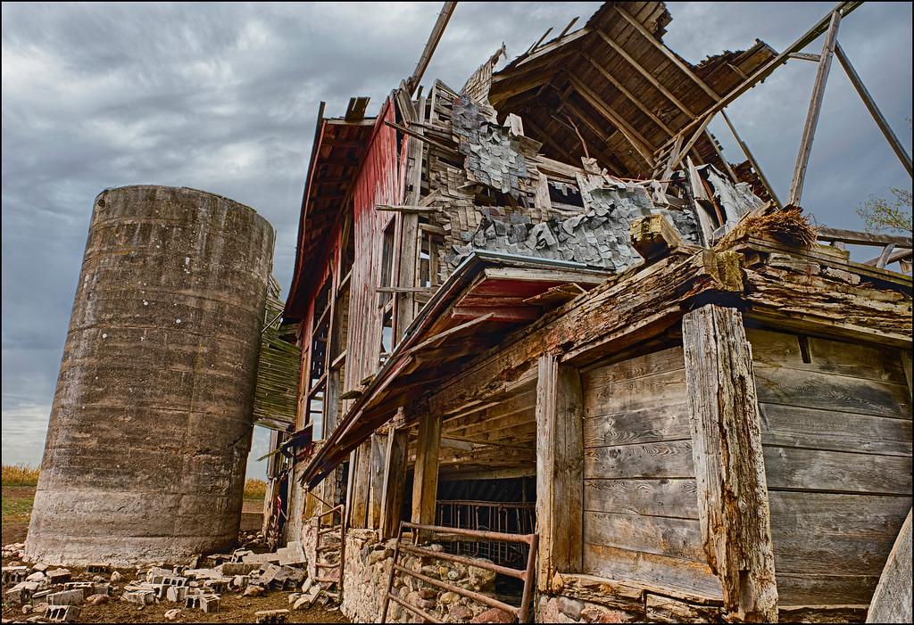 Lost Barn and Silo