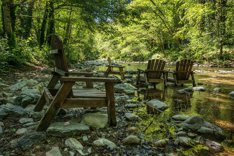 At the River's Inn on the Big Sur River