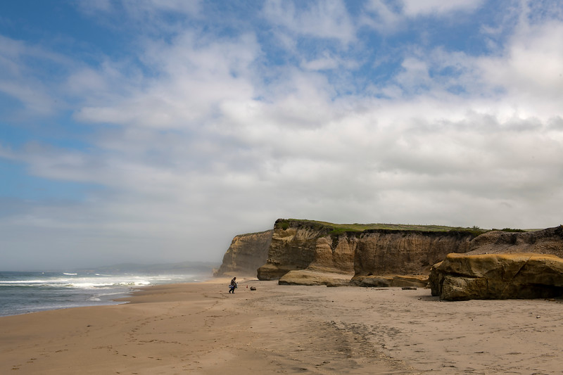 Pomponio Beach Canvas