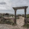 Open Gate, Pescadero State Beach