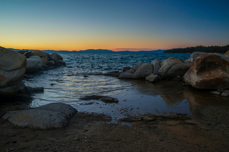 Elk's Point at Sunset