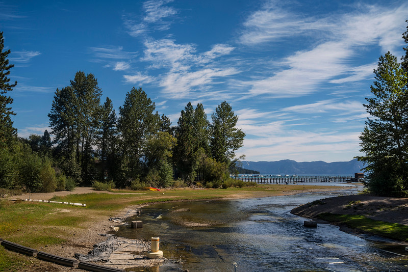 The Mouth of the Truckee River (low water level)