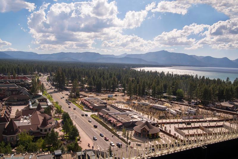 View of South Lake Tahoe, California