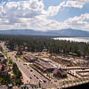 View of South Lake Tahoe, California