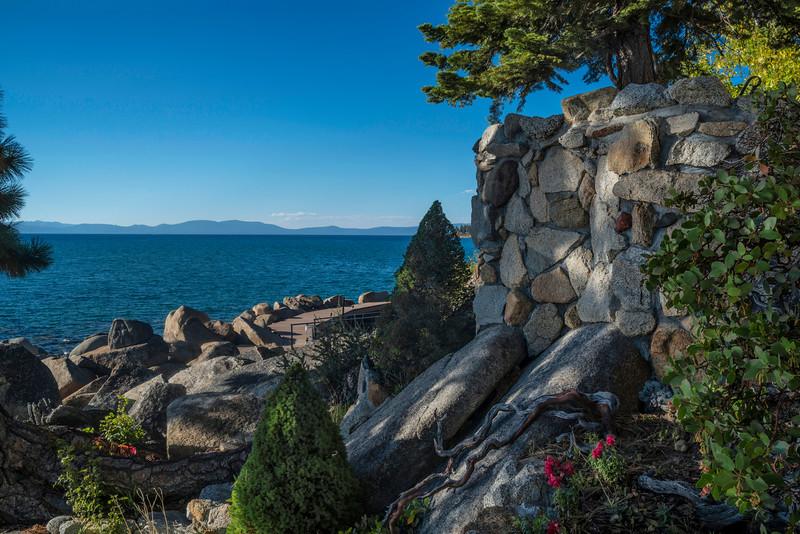 Patio Wall, Lake Tahoe