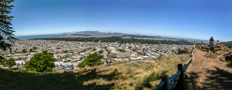 View North from Grandview Park, San Francisco