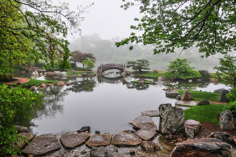 Osaka Garden, Fog