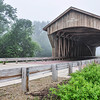 Captain Swift Covered Bridge in the Fog