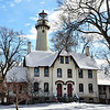 Grosse Pointe Lighthouse, Winter