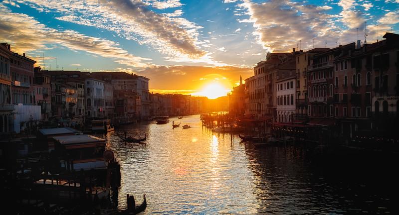 Grand Canal, Venice Italy