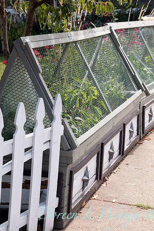 decorative cold frame with wire_6396