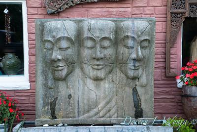 Triad of buddha faces_4489