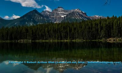 LI-Mountains_8363_CAN.AB.Banff.ATO.WestUSACanada2014-BanffNationalPark.CanadianRockiesReflectionsOverHerbertLakeAlongIcefieldsParkway-B (DSC_8363.NEF)