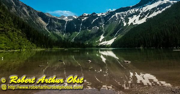 DB-Obst_7028_ATO.WestUSACanada2014-USA.MT.GlacierNP.AvalancheCreekTrail.AvalancheLakeReflections-B (DSC_7028.NEF)