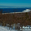 Cross country skiers view during winter from the East Vista of partially forzen Lake Superior within Porcupine Mountains Wilderness State Park (USA MI Silver City-Ontonagon; Obst FAV Photos 2013 Nikon D800 Landscapes Inspirational 7956)
