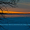 Gorgeous winter sunrise over a frozen Lake Mendota from Governor Nelson State Park (USA WI Waunakee; Obst FAV Photos 2013 Nikon D800 Landscapes Inspirational Sunrises Image 7481)