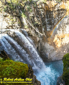 DB-Obst_7848_ATO.WestUSACanada2014-CAN.AB.Banff.BanffNP. JohnstonCanyon.RainbowOverUpperFalls-B (DSC_7848.NEF)