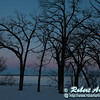 Cross country skier's view during the last day of winter from the Woodland Trail of pink sunset after glow over Lake Mendota within Governor Nelson State Park (USA WI Waunakee; Obst FAV Photos 2013 Nikon D800 Landscapes Inspirational Image 8362)