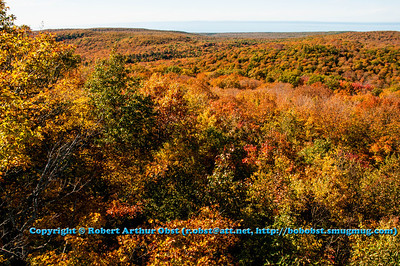 LI.AB_6265_USA.MI.UP.Ontonagon.PorcupineMountainsWildernessSP.SummitPeakScenicArea.AutumnViewFromTower-B