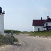 Race Point Lighthouse and the Lightkeeper's house.