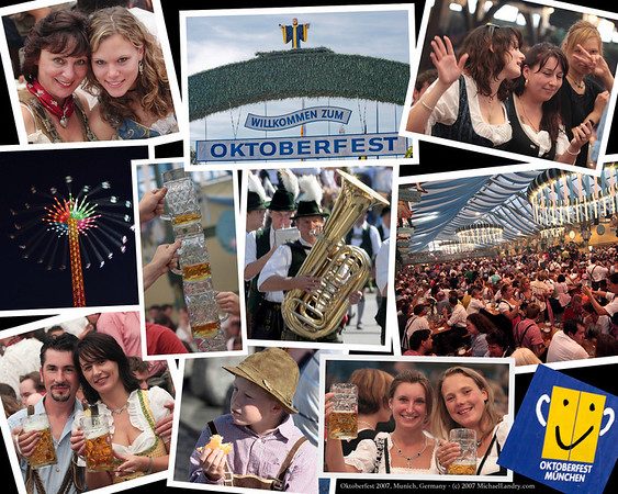 2007; Oktoberfest! Munich, Germany