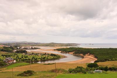 Río Pas Estuary  and Dunas de Liencres - Estuario de Pas (Ría de Mogro) y Dunas de Liencres