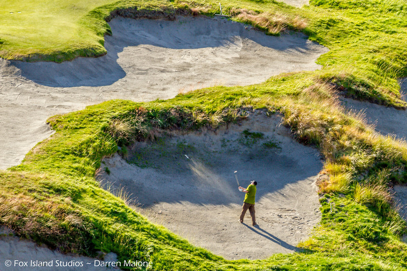 2014 Chambers Bay Golf Course UNTOUCHED (before 2015 US OPEN)