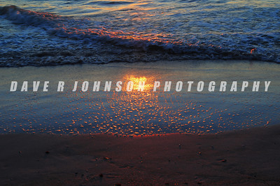 8DJ_0757ee 2013-12-17 Sunset Reflections in the Surf 1, Anna Maria Island, FL