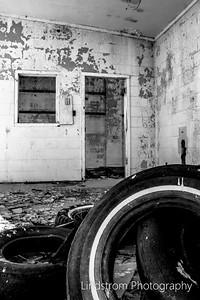 Abandoned 1960s Tire Shop In Roggen CO