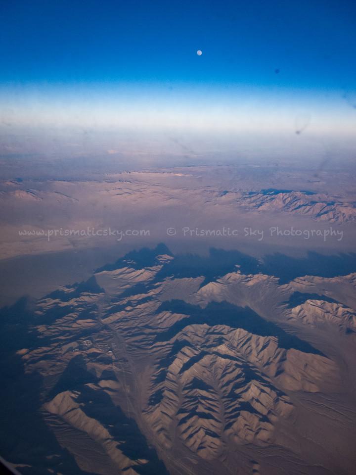 Moon over Nevada