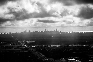 Windy city skyline
