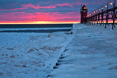 South Haven Sunset -Part Deux