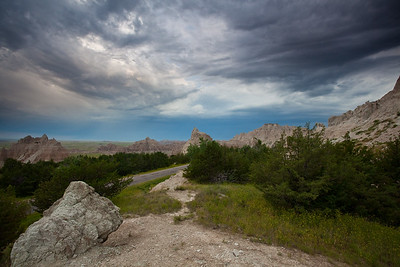 Badlands Sunrise Storm Brewing