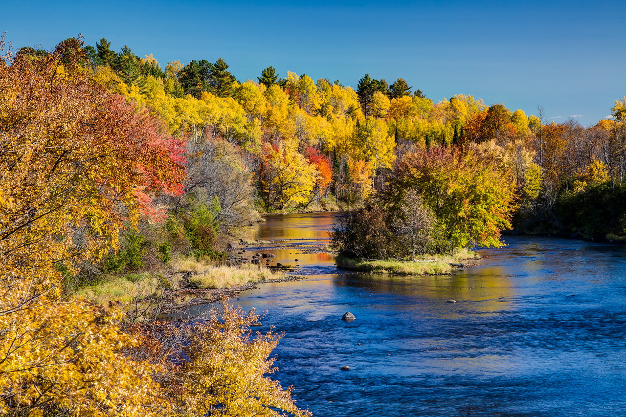 Paint River Fall