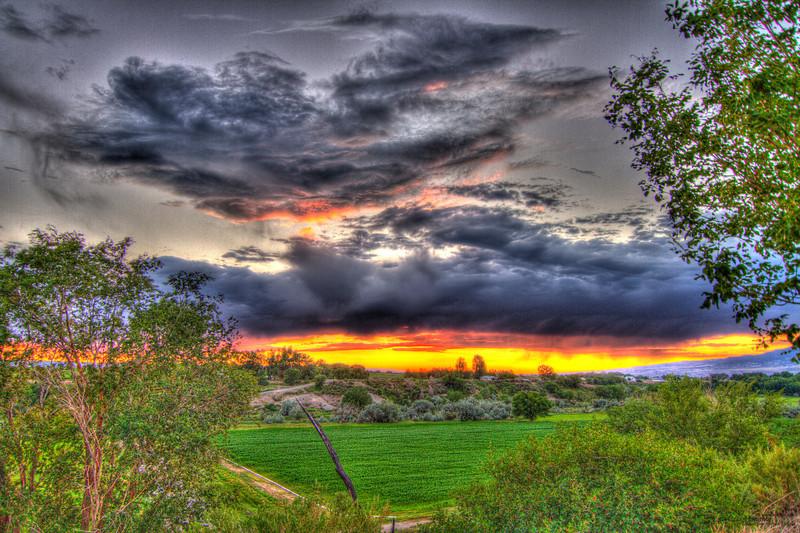 Land of Oz Sunset