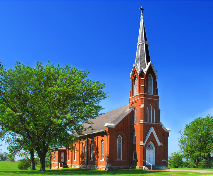 Saints Peter & Paul Catholic Church, Clear Creek, Iowa